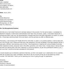 Resume For Veterinarian Animal Investigator Cover Letter