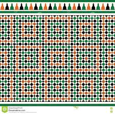 Morocco Design by Morocco Seamless Border Traditional Islamic Design Stock