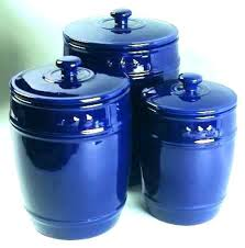 cobalt blue kitchen canisters blue kitchen canisters sets canister set cobalt blue