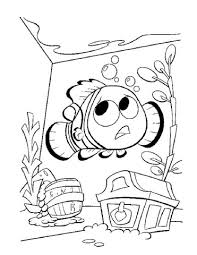 nemo aquarium coloring free printable coloring pages