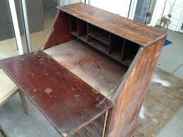Antique Desk Secretary by Stain Rephurbished
