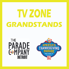 thanksgiving parade tickets tv zone grandstands woodward u0026 grand river the parade company