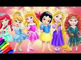 disney baby princess ariel cinderella snow white aurora tiana