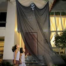 halloween props scary halloween hanging skeleton ghost decorations