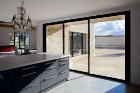 porte vitree cuisine des fenêtres à la mesure de mon projet baies vitrées ouvertures