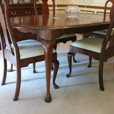 pennsylvania house cherry dining room set pennsylvania house cherry queen anne dining room table and chairs