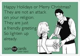 Happy Holidays Meme - merry christmas vs happy holidays