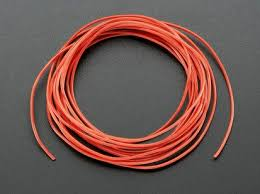 silicone cover stranded core wire 2m 30awg black id 2003