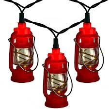 Awning Globe Lights For Camper by Red Prospector Lantern Party String Lights