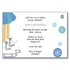 ice skating party invitations cimvitation