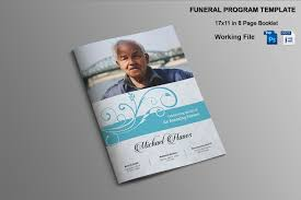 funeral booklet templates 8 page funeral booklet template v482 brochure templates