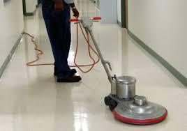 Floor Buffer by Floor Care Service Greensboro Winston Salem High Point