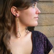 spacer earrings girl from ipanema paper bead earrings paperbeads org paper