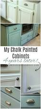 Repainting Cabinets My Chalk Painted Cabinets 4 Years Later Artsy Rule