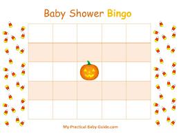 free printable halloween baby shower blank bingo cards visit