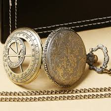 necklace watch vintage images Vintage copper prague astronomical clock pocket watch pendant jpg