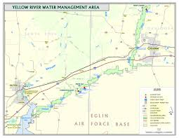 Florida Springs Map Yellow River Northwest Florida Water Management District