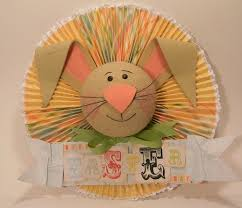 Easter Decorations From Paper by Easter Bunny Paper Medallion Fun Family Crafts