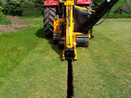 wheel trencher rubber tired tractor wizz wheel 75 aft