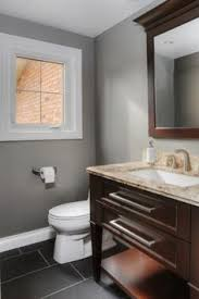 Benjamin Moore Gray Bathroom - tiny bathroom ideas modern powder rooms powder room and