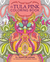 tula pink coloring book portsmouth fabric