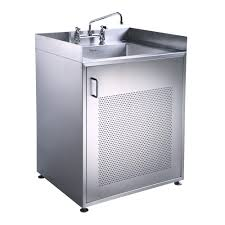 bathroom cabinets stainless steel freestanding sink small