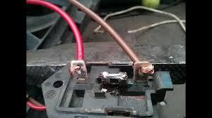 opel astra h zafira b cooling fan resistor repair youtube