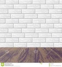 Brick Laminate Flooring Gray Brick Wall With Laminate Floor Stock Vector Image 92388629