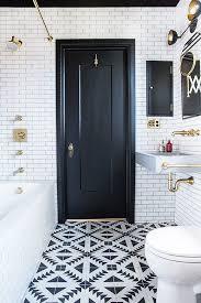 Subway Tile Bathroom Floor Ideas Best 25 Black Bathroom Floor Ideas On Pinterest Powder Room