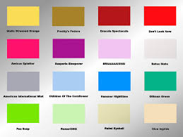 colors and mood chart majestic design 11 8 best images of 2013 gmc