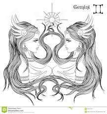 illustration of taurus astrological sign as a beautiful lady