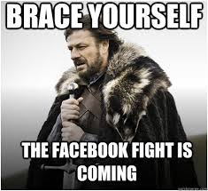 Fight Meme - the jae list five tips on how to survive a facebook fight the