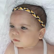 toddler headbands infant headbands braided headband yellow headband halo headband