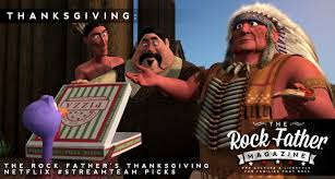 the rock s thanksgiving netflix feast featuring free birds