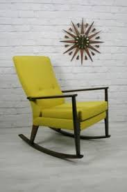 West Elm Ryder Rocking Chair 1950s Scandinavian Re Upholstered Rocking Chair Mid Century