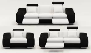 canape relaxe deco in ensemble canape relax design 3 2 1 places blanc et