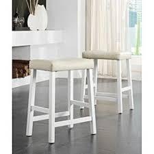 white saddle seat bar stool foter