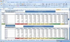 Spreadsheet Word Excel Sales Forecast Template Virtren Com