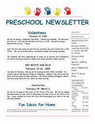 february preschool newsletter template template update234 com