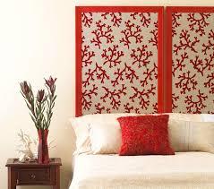 wohnideen schlafzimmer diy schlafzimmer inspiration für diy bett kopfteil aus wandschirm und