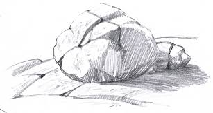how to draw rocks john muir laws