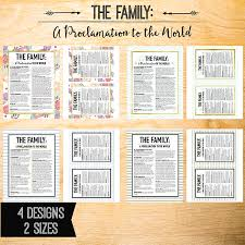 family proclamation the family a proclamation to the world the headed hostess