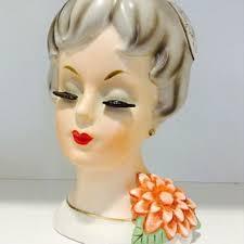 Vintage Lady Head Vases Ceramic Head Vases Collectors Weekly
