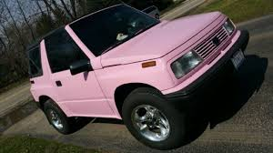 chevy tracker 1995 1995 chevy tracker pink no reserve