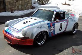 martini porsche 930 porsche 911 vintage road racing car martini racing tribute restored