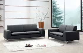 Contemporary Black Leather Sofa Impressive Leather Sofa Modern Inspiring Sofas For Contemporary