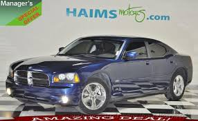 2009 used dodge charger 2009 used dodge charger 4dr sedan r t rwd at haims motors serving