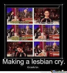 Lesbian Memes - lesbian tears by riffer meme center