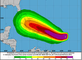 Show Map Of Puerto Rico hurricane irma path map where is hurricane irma now weather