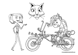 coraline coloring pages itgod me